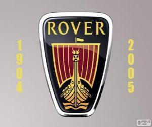 Rover-Logo war ein Automobilhersteller in Großbritannien puzzle