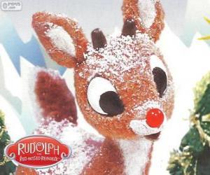 Rudolph, das kleine Rentier mit roter Nase puzzle