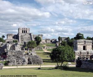 Ruinen von Tulum, Mexiko puzzle