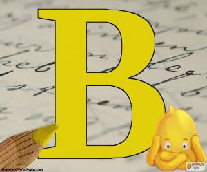 Russischen Buchstaben В puzzle