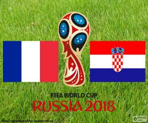 Russland 2018 FIFA FW finale puzzle