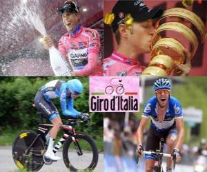 Ryder Hesjedal, Sieger des Giro Italien 2012 puzzle