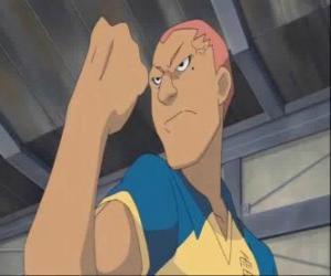 Ryugo Someoka oder Kevin Dragonfly, der brummige Stürmer von Raimon Fußballmannschaft puzzle
