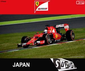 S. Vettel G. P Japan 2015 puzzle
