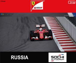 S. Vettel, G.P von Russland 2015 puzzle