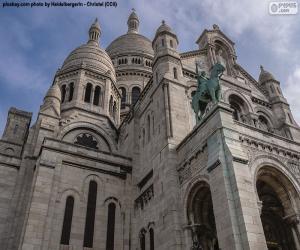 Sacré-Cœur de Montmartre, Paris puzzle