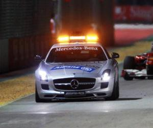 Safety Car - Singapur 2010 puzzle