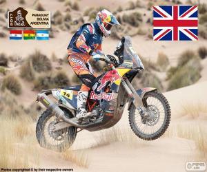 Sam Sunderland, Dakar 2017 puzzle