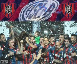 San Lorenzo de Almagro, Meister der Copa Libertadores 2014 puzzle