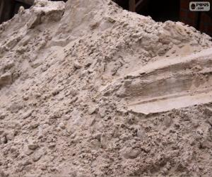 Sand für den Bau puzzle