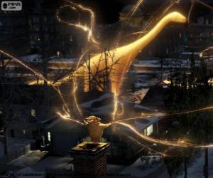 Sandman, der Hüter der Träume, das stumme Zeichen von Die Hüter des Lichts Film puzzle