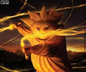 Sandmann, der Hüter der Träume. Der Film von DreamWorks, Die Hüter des Lichts puzzle