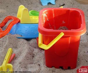 Sandspielzeug puzzle
