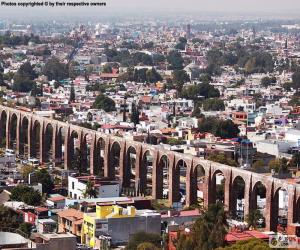 Santiago de Querétaro, Mexiko puzzle
