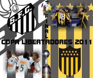 Santos FC - Peñarol Montevideo. Final Copa Libertadores 2011 puzzle