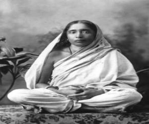 Sarada Devi, frau und spirituelle partner von Ramakrishna Paramahamsa puzzle