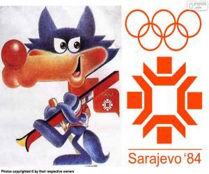 Sarajevo 1984 Olympischen Winterspiele puzzle
