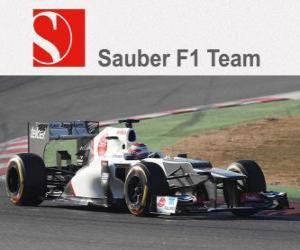 Sauber C31 - 2012 - puzzle