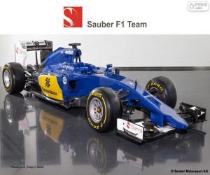 Sauber F1 Team 2015 puzzle
