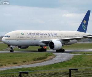 Saudi Arabian Airlines puzzle