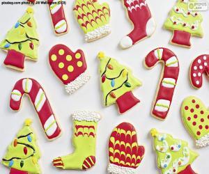 Schöne Weihnachtsplätzchen puzzle