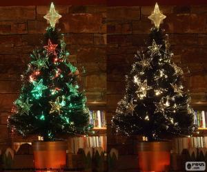 Schöner Baum von Weihnachten puzzle