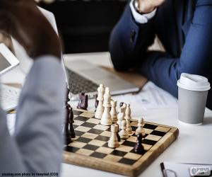 Schach-Spiel puzzle