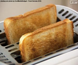 Scheiben in den toaster puzzle