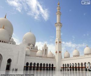 Scheich-Zayid-Moschee, Abu Dhabi puzzle