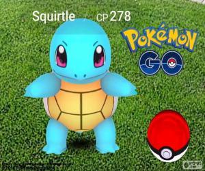 Schiggy Pokémon GO puzzle