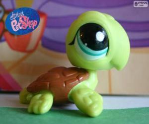 Schildkröte aus Littlest PetShop puzzle