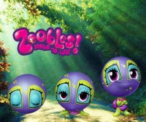 Schildkröte, Zooble von Petagonia puzzle