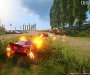 Schlacht, Cars 3 Videospiel puzzle
