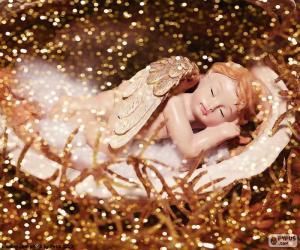 Schlafender Engel puzzle