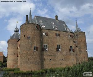Schloss Ammersoyen, Niederlande puzzle