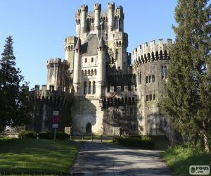 Schloss Butrón, Spanien puzzle
