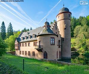 Schloss Mespelbrunn, Deutschland puzzle