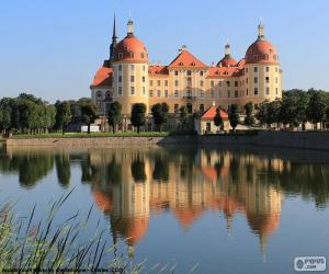 Schloss Moritzburg, Deutschland puzzle