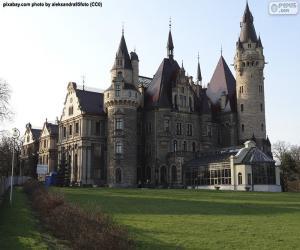 Schloss Moschen, Polen puzzle
