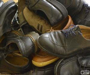 Schuhe für Herren puzzle