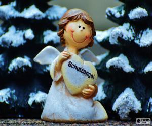 Schutzengel, Weihnachten puzzle