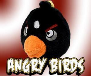 Schwarz Vogel (Black Bird), Vogel Bomben explodiert Vogel puzzle