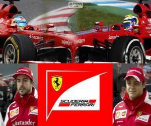 Scuderia Ferrari 2013 puzzle