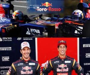 Scuderia Toro Rosso 2013 puzzle