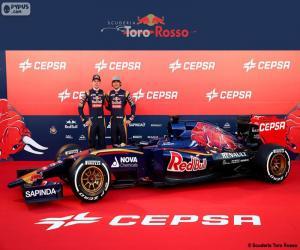 Scuderia Toro Rosso 2015 puzzle