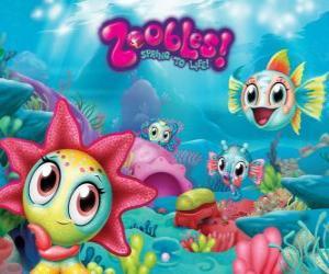 Seagonia, das Meer von der Zoobles puzzle