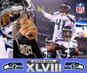 Seattle Seahawks, Super Bowl 2014 Meister puzzle
