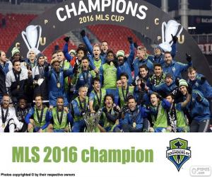 Seattle Sounders, MLS 2016 puzzle