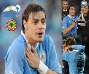 Sebastian Coates besten Offenbarung Copa America 2011 puzzle