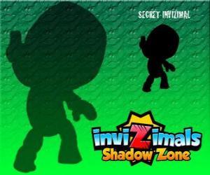 Secret Invizimal. Invizimals Schattenzone. Niemand weiß etwas über dieses geheimnisvolle und geheimen Invizimal puzzle